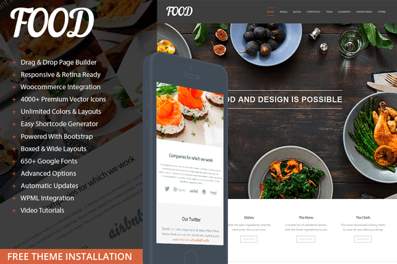 food-tema-wordpress-restaurante