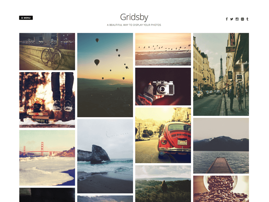 Plantillas web WordPress gratuitas para fotografos